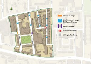 Arbour Square Area Map